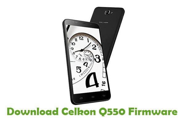 Download Celkon Q550 Firmware