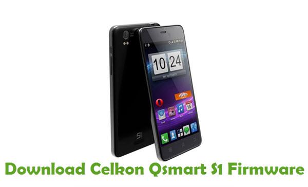 Download Celkon Qsmart S1 Firmware