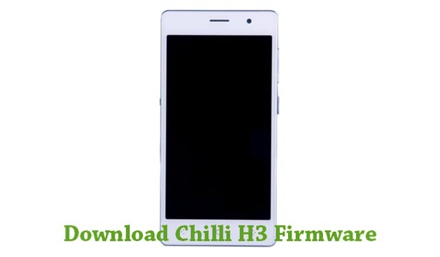 Download Chilli H3 Firmware