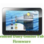Dany Genius Tab G2 Firmware