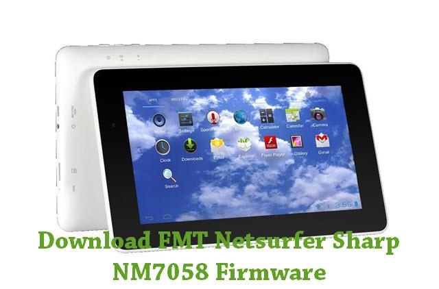 Download FMT Netsurfer Sharp NM7058 Firmware