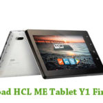 HCL ME Tablet Y1 Firmware