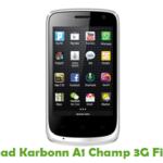 Karbonn A1 Champ 3G Firmware