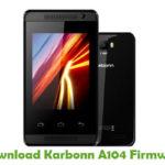 Karbonn A104 Firmware