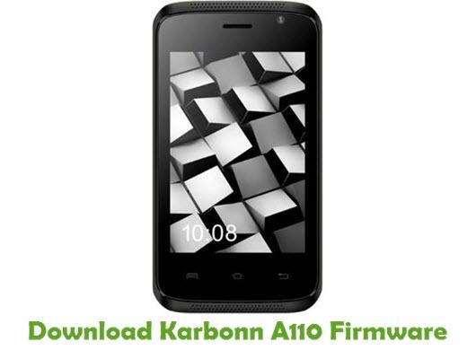 Download Karbonn A110 Firmware