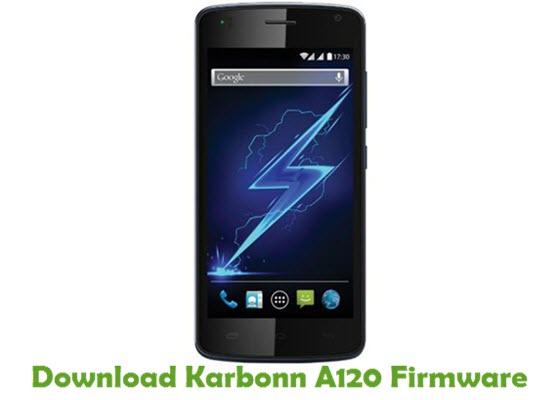 Download Karbonn A120 Firmware