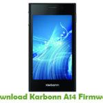 Karbonn A14 Firmware
