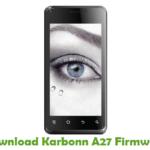 Karbonn A27 Firmware