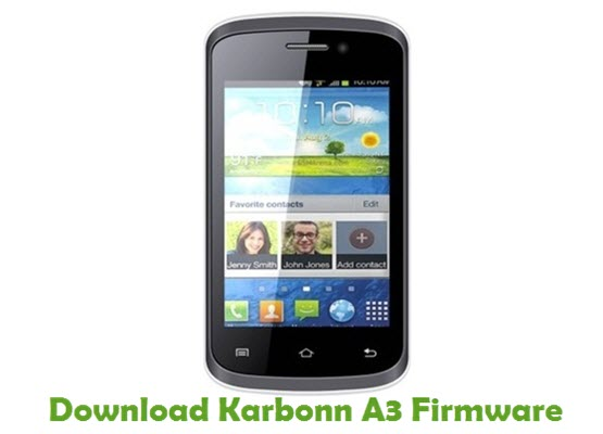 Download Karbonn A3 Firmware
