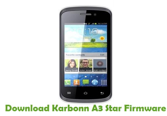 Download Karbonn A3 Star Firmware