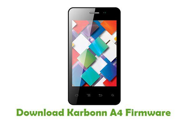 Download Karbonn A4 Firmware