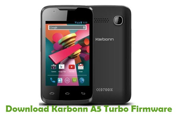 Download Karbonn A5 Turbo Stock ROM