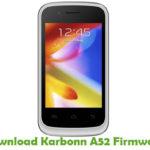 Karbonn A52 Firmware
