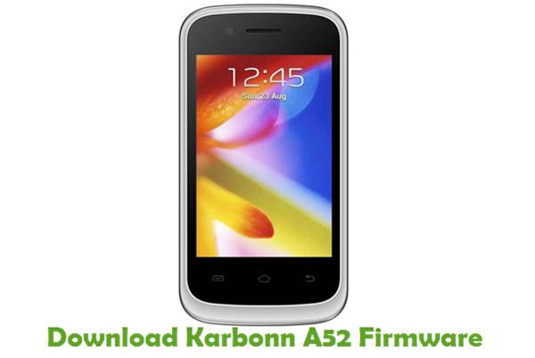 Download Karbonn A52 Firmware