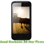 Karbonn A8 Star Firmware