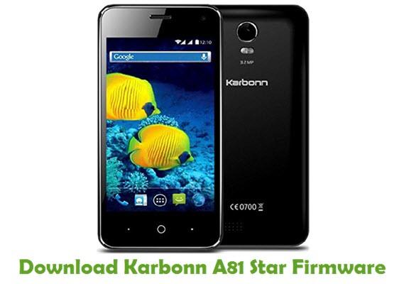 Download Karbonn A81 Star Firmware