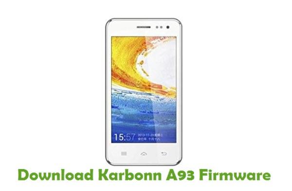 Download Karbonn A93 Firmware