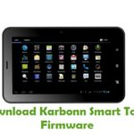 Karbonn Smart Tab 2 Firmware