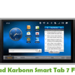 Karbonn Smart Tab 7 Firmware