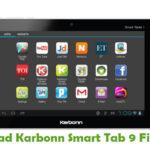 Karbonn Smart Tab 9 Firmware