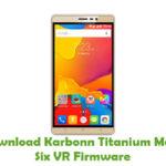 Karbonn Titanium Mach Six VR Firmware