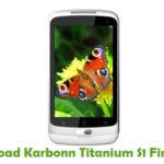 Karbonn Titanium S1 Firmware
