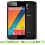 Karbonn Titanium S10 Firmware