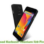 Karbonn Titanium S20 Firmware