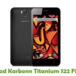 Karbonn Titanium S22 Firmware