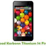 Karbonn Titanium S4 Firmware