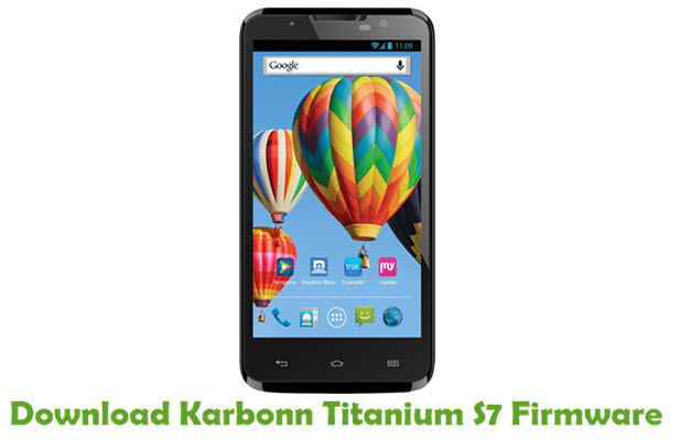 Download Karbonn Titanium S7 Firmware