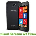 Karbonn W4 Firmware