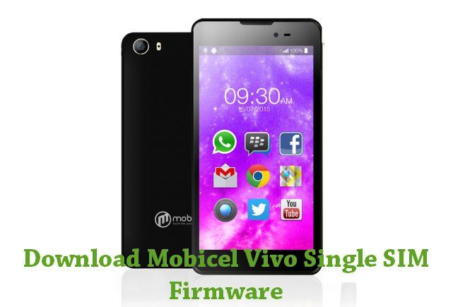 Download Mobicel Vivo Single SIM Stock ROM