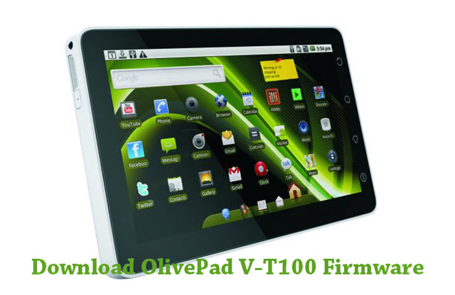 Download OlivePad V-T100 Firmware