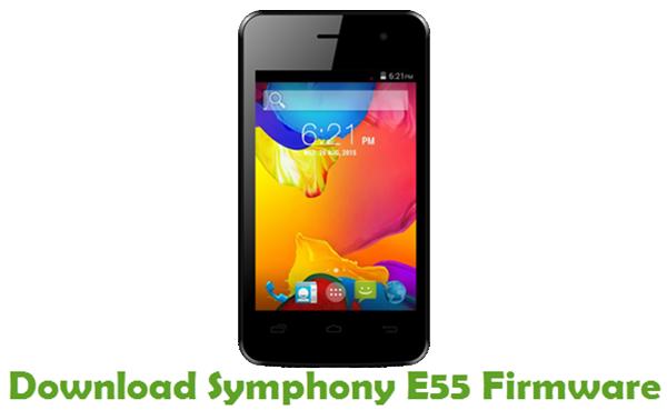 Download Symphony E55 Firmware