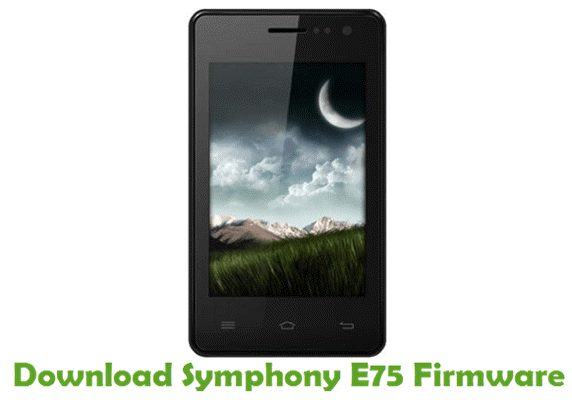 Download Symphony E75 Firmware