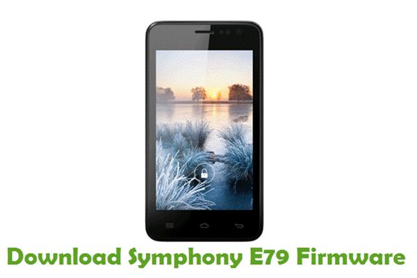 Download Symphony E79 Stock ROM