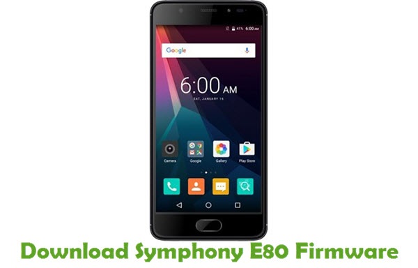 Download Symphony E80 Firmware