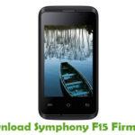 Symphony F15 Firmware