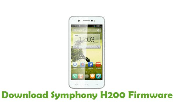 Download Symphony H200 Stock ROM