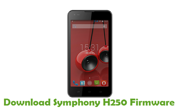 Download Symphony H250 Stock ROM