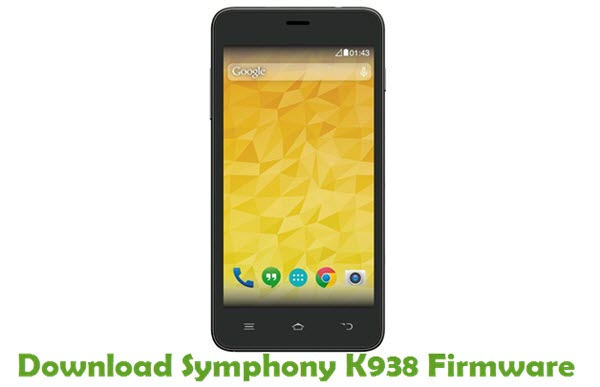 Download Symphony K938 Stock ROM