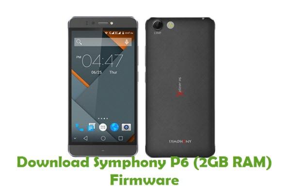 Download Symphony P6 (2GB RAM) Stock ROM