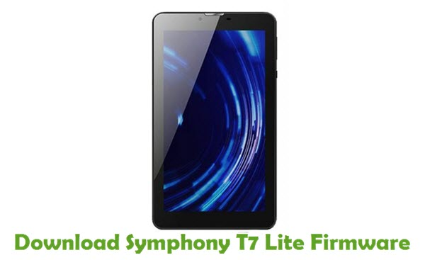 Download Symphony T7 Lite Stock ROM