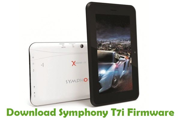 Download Symphony T7i Stock ROM