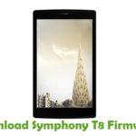 Symphony T8 Firmware