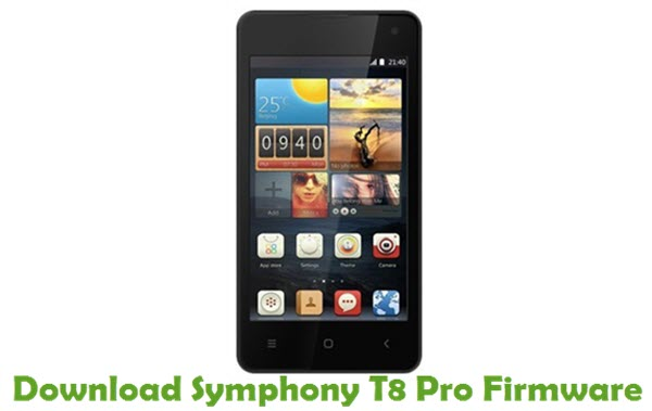 Download Symphony T8 Pro Stock ROM