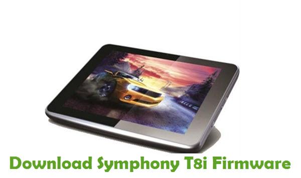 Download Symphony T8i Stock ROM