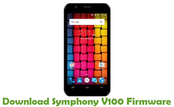Download Symphony V100 Stock ROM