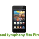 Symphony V28 Firmware